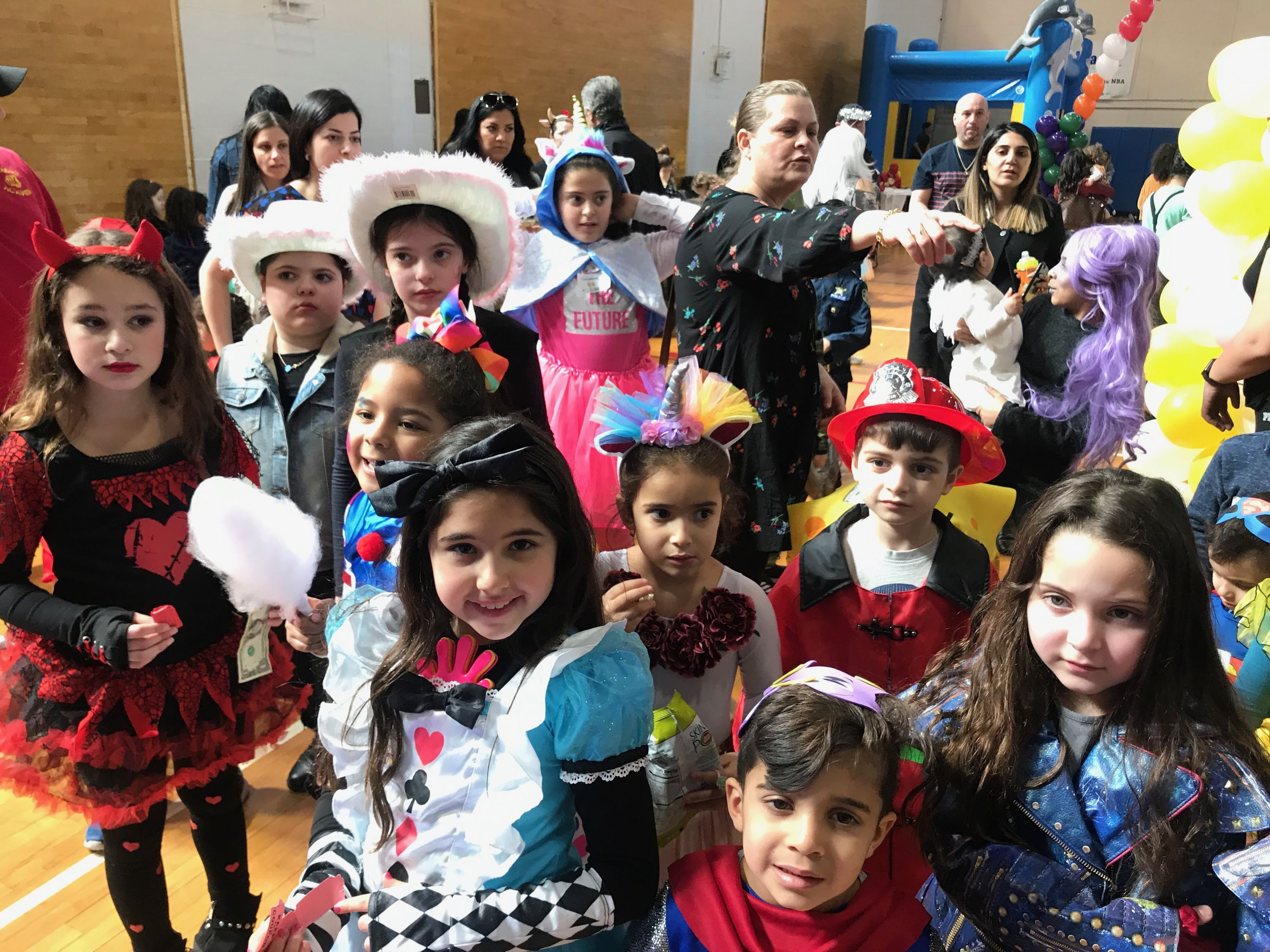 Purim at HES
